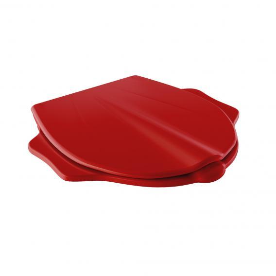 Geberit Bambini WC-Sitz im Tierdesign mit Deckel rot ohne Absenkautomatik soft-close