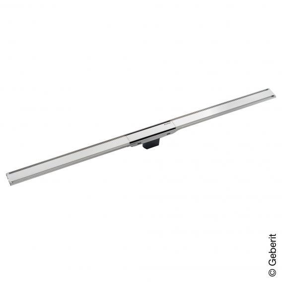 Geberit CleanLine 60 Duschrinne für dünne Bodenbeläge edelstahl poliert, für Duschrinne: 30 - 90 cm