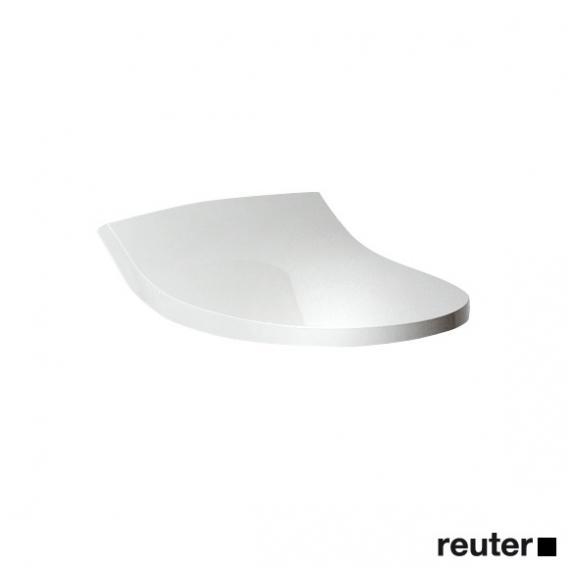 Geberit Deckel und Scharnierset zu AquaClean 5000/5000Plus, weiß