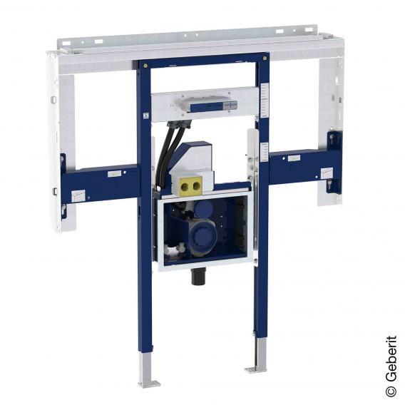 Geberit Duofix Element für ONE Waschtisch und Wandarmatur raumhoch, mit UP-Drehgeruchsverschluss und Clou B: 110 cm