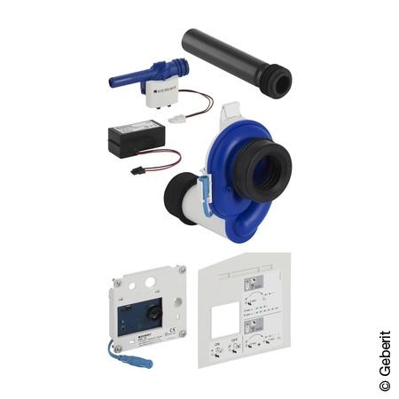 Geberit HyTronic Urinalsteuerung für versteckte Montage, berührungslos, Netzbetrieb