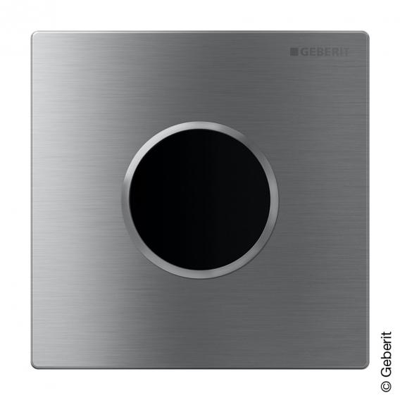 Geberit Urinalsteuerung berührungslos Sigma 10 IR edelstahl gebürstet/edelstahl poliert/edelstahl gebürstet