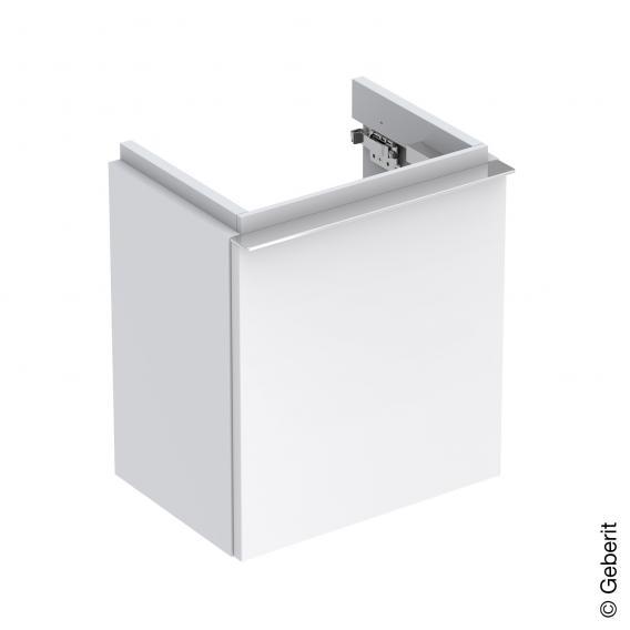Geberit iCon Handwaschbecken-Unterschrank mit 1 Tür Front alpin hochglanz / Korpus alpin hochglanz
