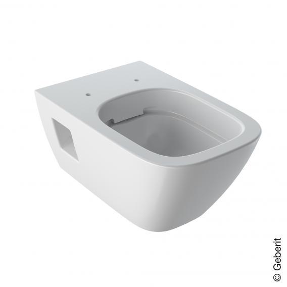 Geberit Renova Plan Wand-Tiefspül-WC weiß, mit KeraTect