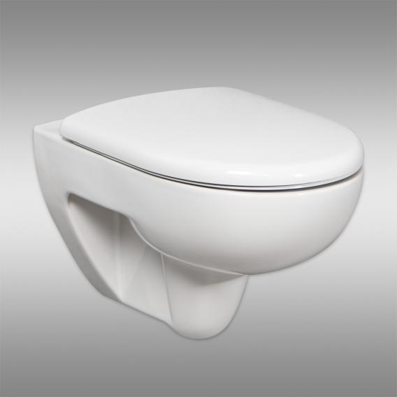 Geberit Renova & Tellkamp Premium 3000 WC-SET mit Zubehör: WC ohne Spülrand, mit KeraTect, WC-Sitz mit Absenkautomatik