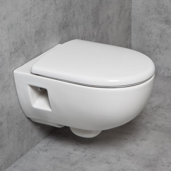 Geberit Renova & Tellkamp Premium 3000 Wand-WC-SET spülrandlos: WC-Sitz mit Absenkautomatik