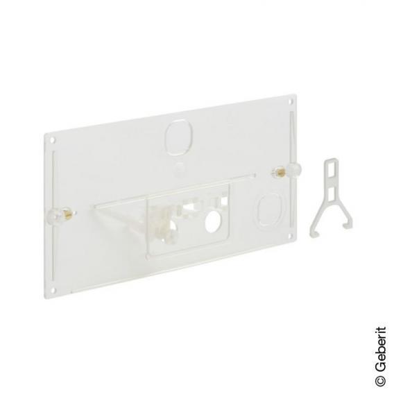 Geberit Schutzplatte transparent