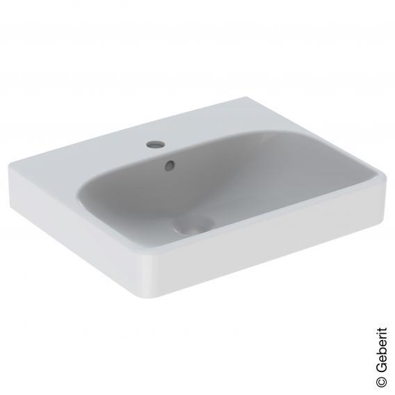 Geberit Smyle Square Handwaschbecken weiß, mit KeraTect