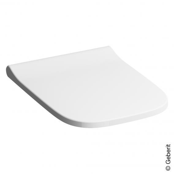 Geberit Smyle Square WC-Sitz, schmales Design mit Absenkautomatik & abnehmbar