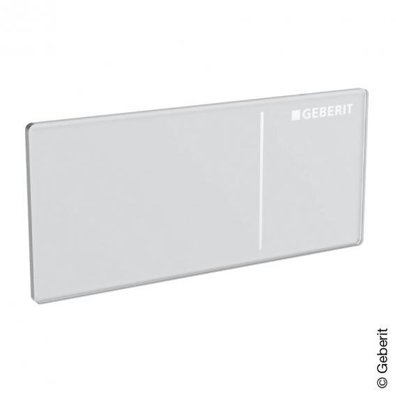 Geberit Typ 70 Fernbetätigung für 2-Mengen-Spülung, für Möbel glas weiß