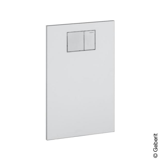 Geberit AquaClean Designplatte für Aufsätze an Geberit UP-Spülkasten weiß alpin