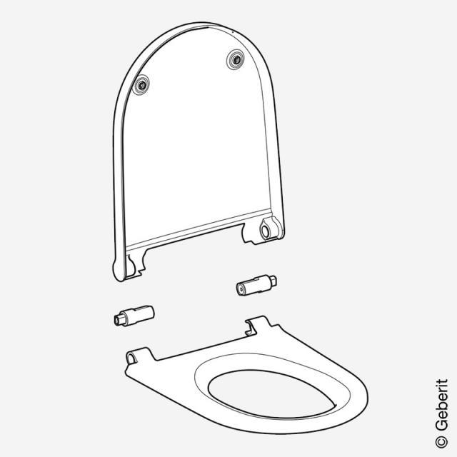 Geberit AquaClean Sela Ersatz-WC-Sitz, Baujahr ab 04/2019