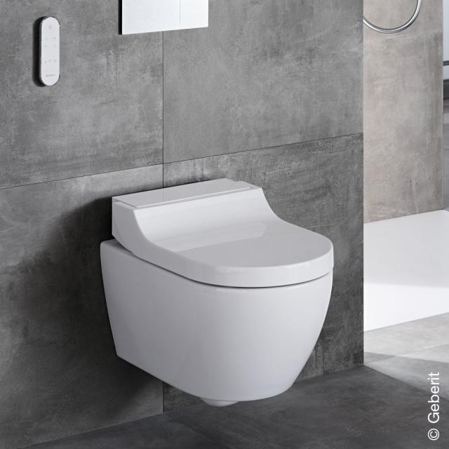 Geberit AquaClean Tuma Comfort Dusch-WC Komplettanlage, mit WC-Sitz weiß