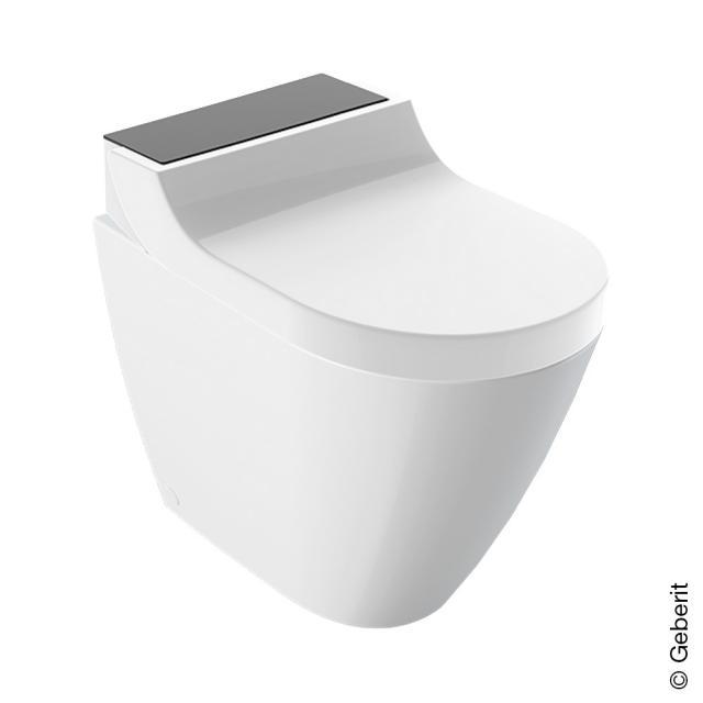 Geberit AquaClean Tuma Comfort Stand-Dusch-WC Komplettanlage, mit WC-Sitz weiß/schwarz
