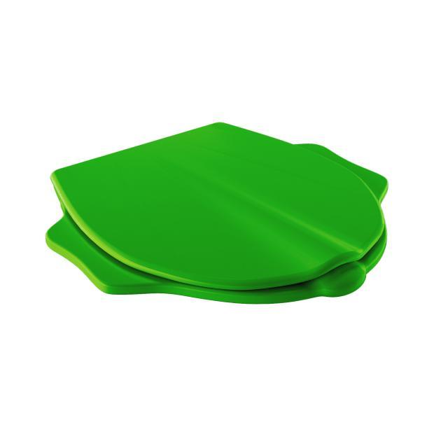 Geberit Bambini WC-Sitz im Tierdesign mit Deckel grün mit Absenkautomatik soft-close