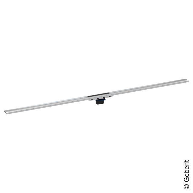 Geberit CleanLine 80 Duschrinne edelstahl gebürstet, für Duschrinne: 30 - 90 cm