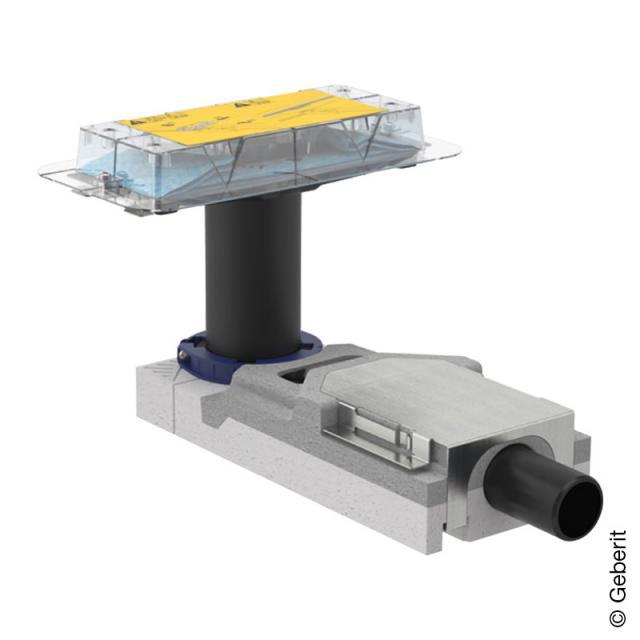 Geberit CleanLine Duschrinnen Rohbauset für Fußbodenaufbauhöhe ab 65mm