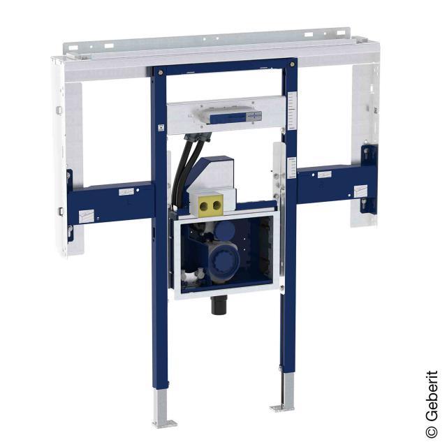 Geberit Duofix Element für ONE Waschtisch und ONE Wandarmatur raumhoch, mit UP-Drehgeruchsverschluss und Clou B: 110 cm