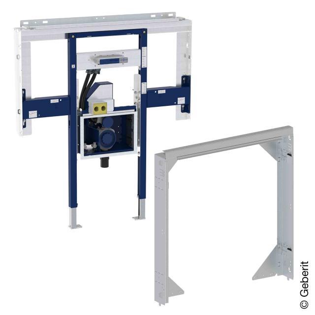 Geberit Duofix Element Set für ONE Waschtisch und ONE Wandarmatur, mit Rohbaubox für ONE Spiegelschrank B: 80 cm
