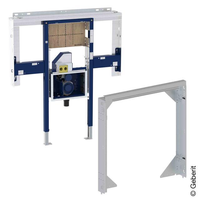 Geberit Duofix Element Set für ONE Waschtisch und Wandarmatur, mit Rohbaubox für ONE Spiegelschrank B: 80 cm