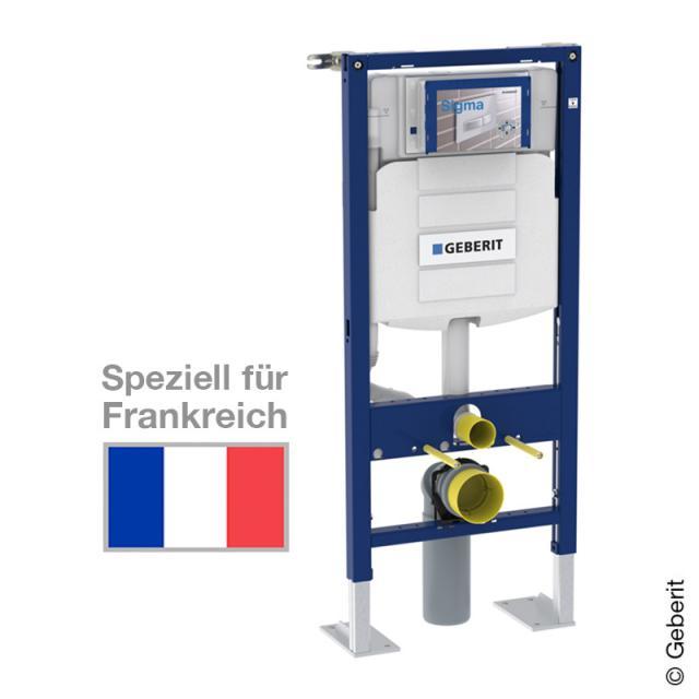 Geberit Duofix Wand-WC-Montageelement, H: 112 cm, UP-Spk. UP320, für Frankreich geeignet