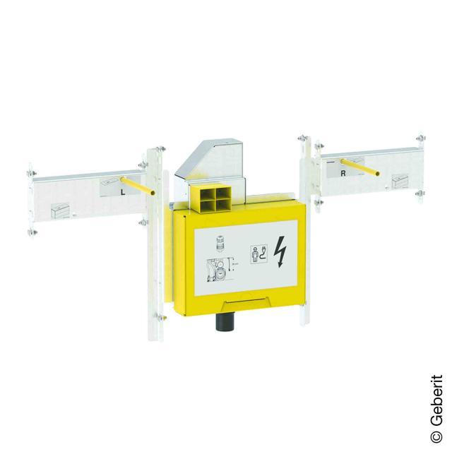 Geberit GIS Set für ONE Waschtisch und Wandarmatur mit UP-Drehgeruchsverschluss, mit UP-Clou B: 76 cm