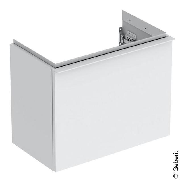 Geberit iCon Handwaschbeckenunterschrank mit 1 Auszug Front weiß matt / Korpus weiß matt, Griff weiß matt