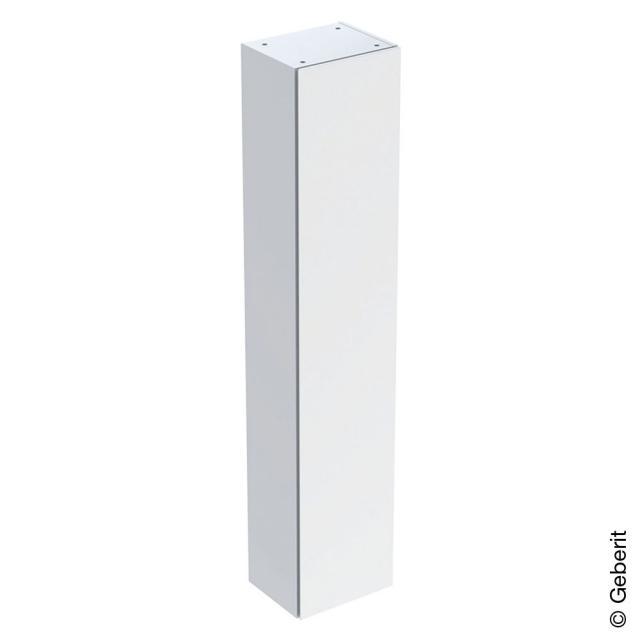Geberit iCon Hochschrank mit 1 Tür Front weiß hochglanz / Korpus weiß hochglanz