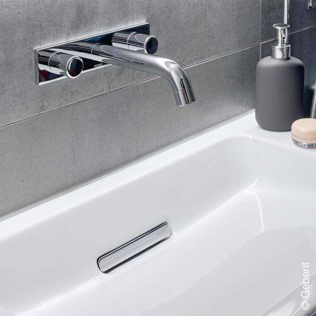 Geberit ONE 3-Loch Waschtisch-Armatur für Wandmontage