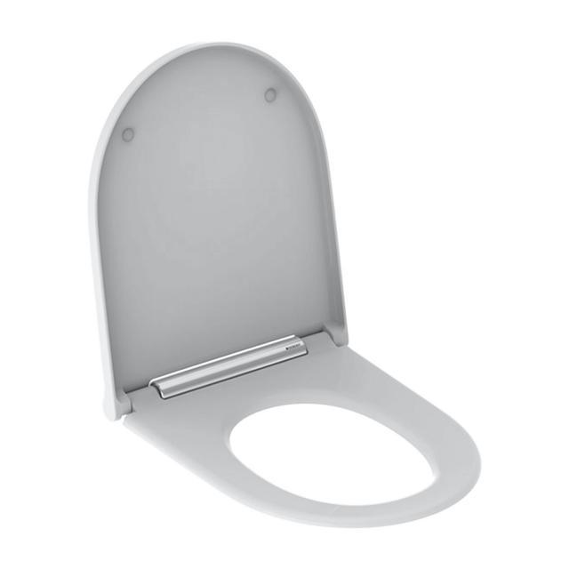 Geberit ONE WC-Sitz mit Absenkautomatik weiß/chrom