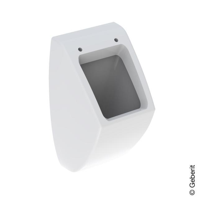 Geberit Pareo Urinal für Deckel, Zulauf hinten weiß mit KeraTect