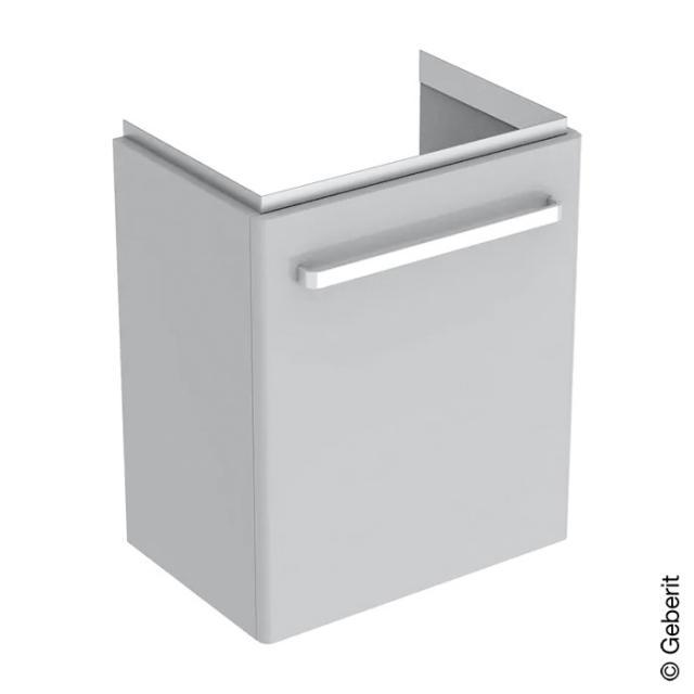 Geberit Renova Compact Waschtischunterschrank Front hellgrau hochglanz / Korpus hellgrau matt