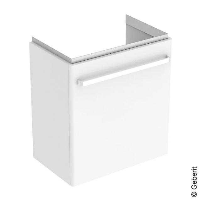 Geberit Renova Compact Waschtischunterschrank Front weiß hochglanz / Korpus weiß matt