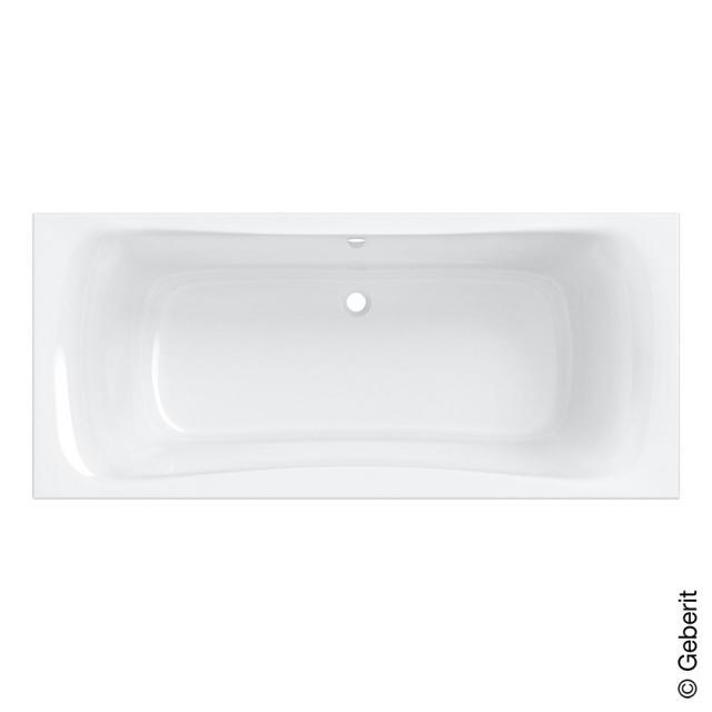 Geberit Renova Duo Rechteck-Badewanne, Einbau