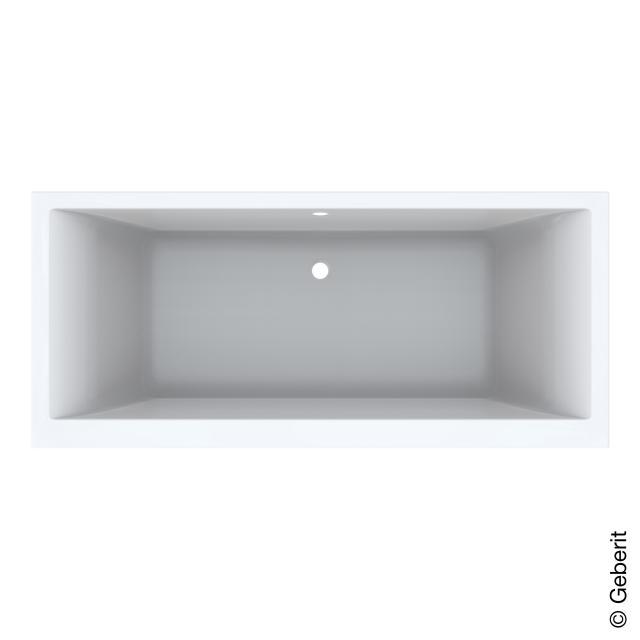 Geberit Renova Plan Duo Rechteck-Badewanne, Einbau