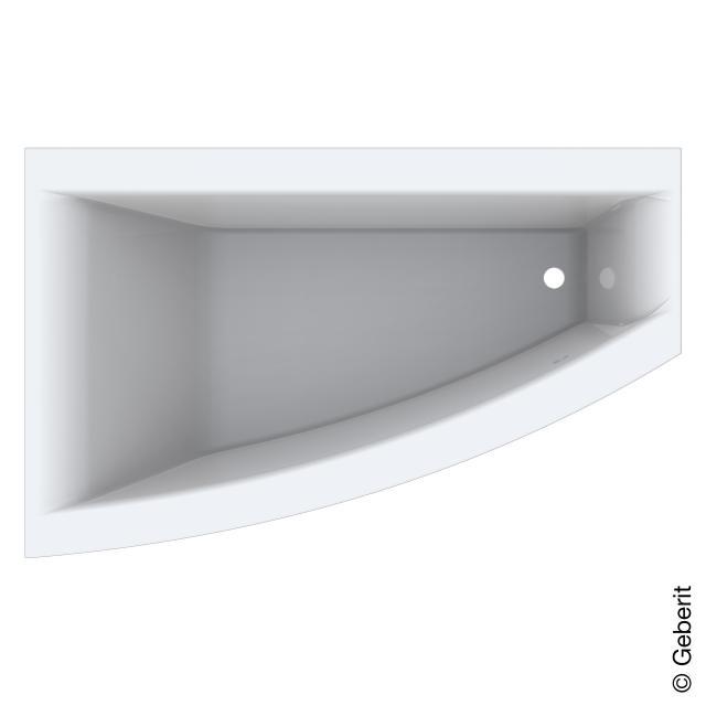 Geberit Renova Plan Eck-Badewanne, Einbau