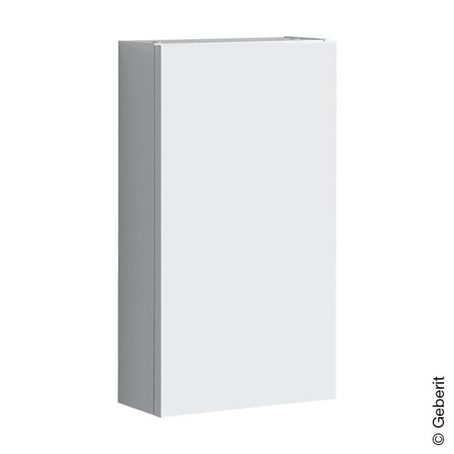 Geberit Renova Plan Hängeschrank mit 1 Tür Front weiß hochglanz / Korpus weiß hochglanz