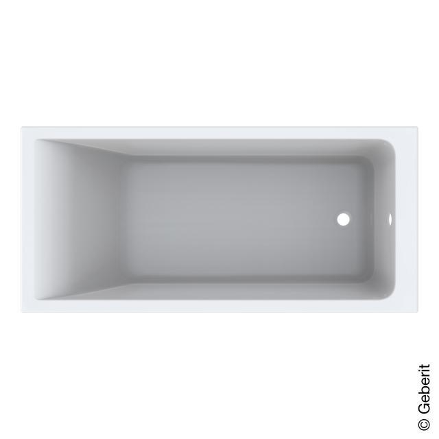 Geberit Renova Plan Rechteck-Badewanne, Einbau