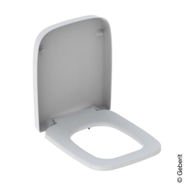 Geberit Renova Plan WC-Sitz mit Absenkautomatik & abnehmbar