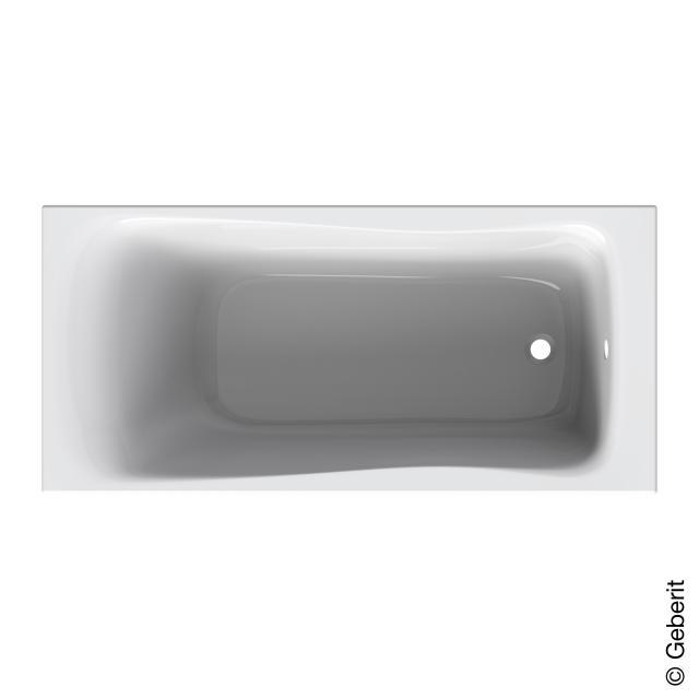 Geberit Renova Rechteck-Badewanne, Einbau
