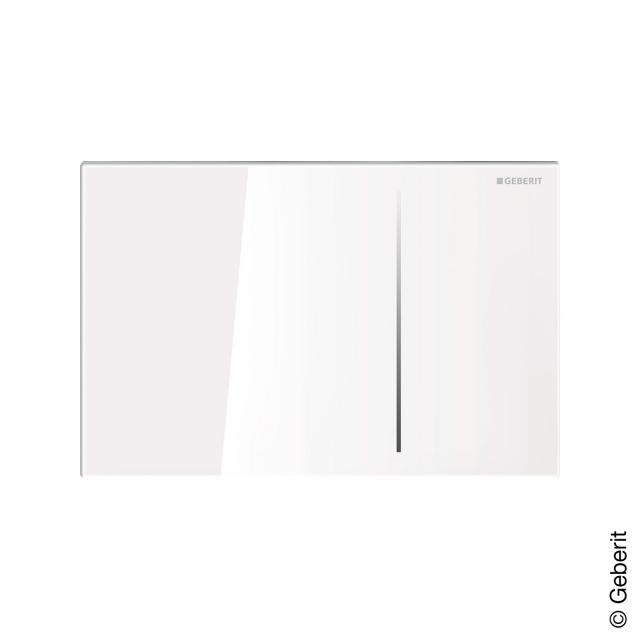 Geberit Sigma70 Betätigungsplatte für 2-Mengen-Spülung Glas weiß