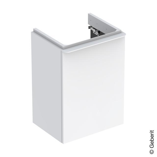 Geberit Smyle Square Handwaschbeckenunterschrank mit 1 Tür weiß hochglanz