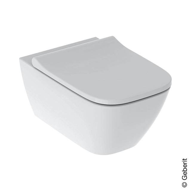 Geberit Smyle Square Wand-Tiefspül-WC mit WC-Sitz