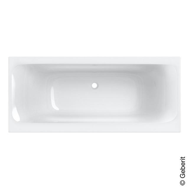 Geberit Tawa Duo Rechteck-Badewanne, Einbau