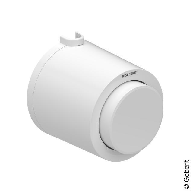 Geberit Typ 01 Fernbetätigung, pneumatisch, für 1-Mengen-Spülung, AP-Drücker