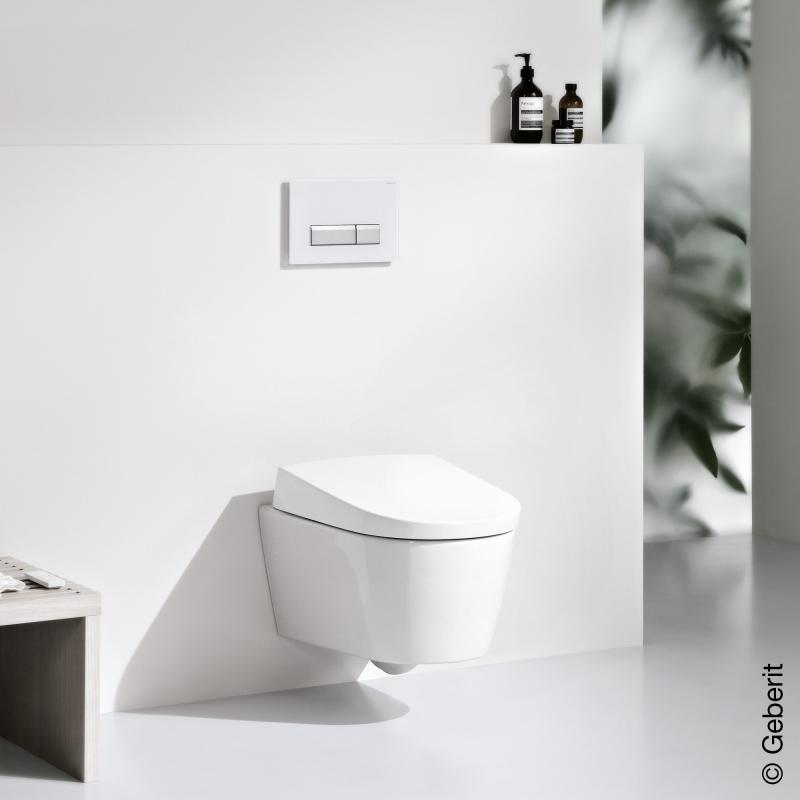 geberit aquaclean sela wand dusch wc komplettanlage mit analdusche 146140111 reuter. Black Bedroom Furniture Sets. Home Design Ideas