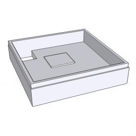 Schröder Duschwannenträger für Easytray L: 100 B: 80 H: 2,5/4 cm