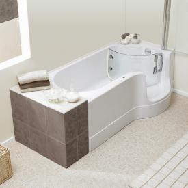 Schröder Pazifik Badewanne mit Duschzone Ecke rechts