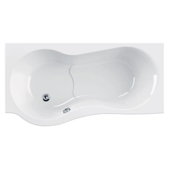 Schröder Flora Rechteck-Badewanne mit Duschzone