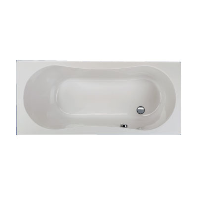 Schröder Dominika Rechteck-Badewanne, Einbau